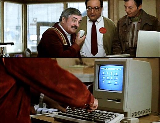 Hello, Computer!… Hello, Computer!… The keyboard, how quaint!